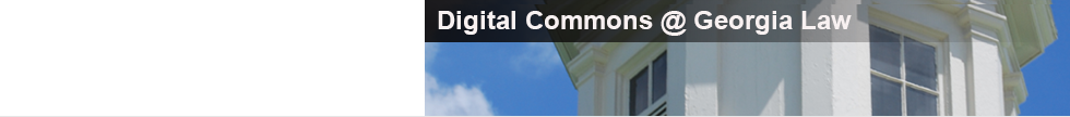 Digital Commons @ Georgia Law