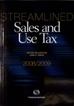 Streamlined Sales and Use Tax, 2008/2009 by Walter Hellerstein and John A. Swain