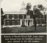 Harold Hirsch Hall, 1932