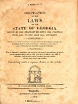 1812 Compiled Laws by Augustin Smith Clayton