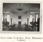 Alexander Campbell King Memorial Library, 1932